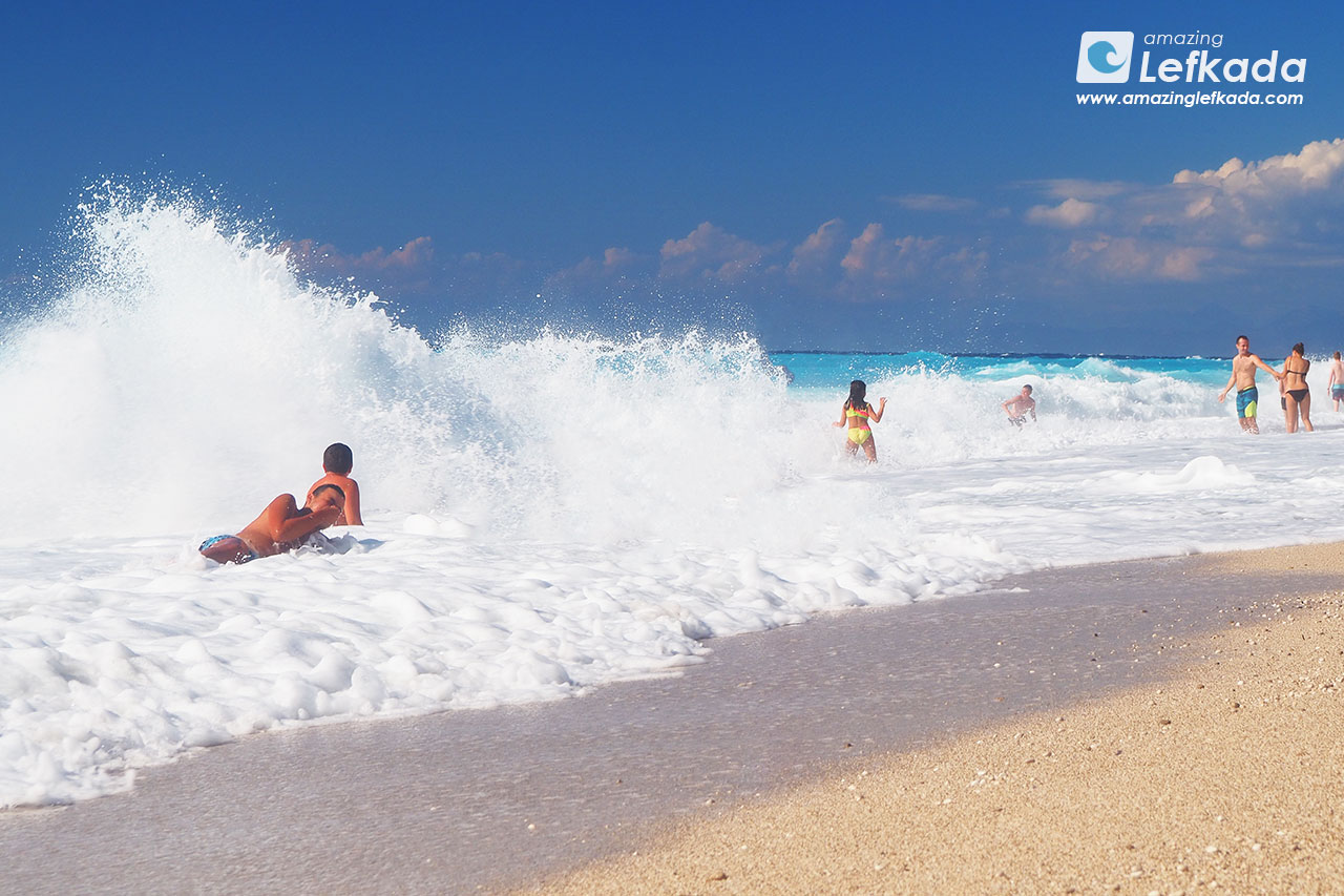 Lefkada waves