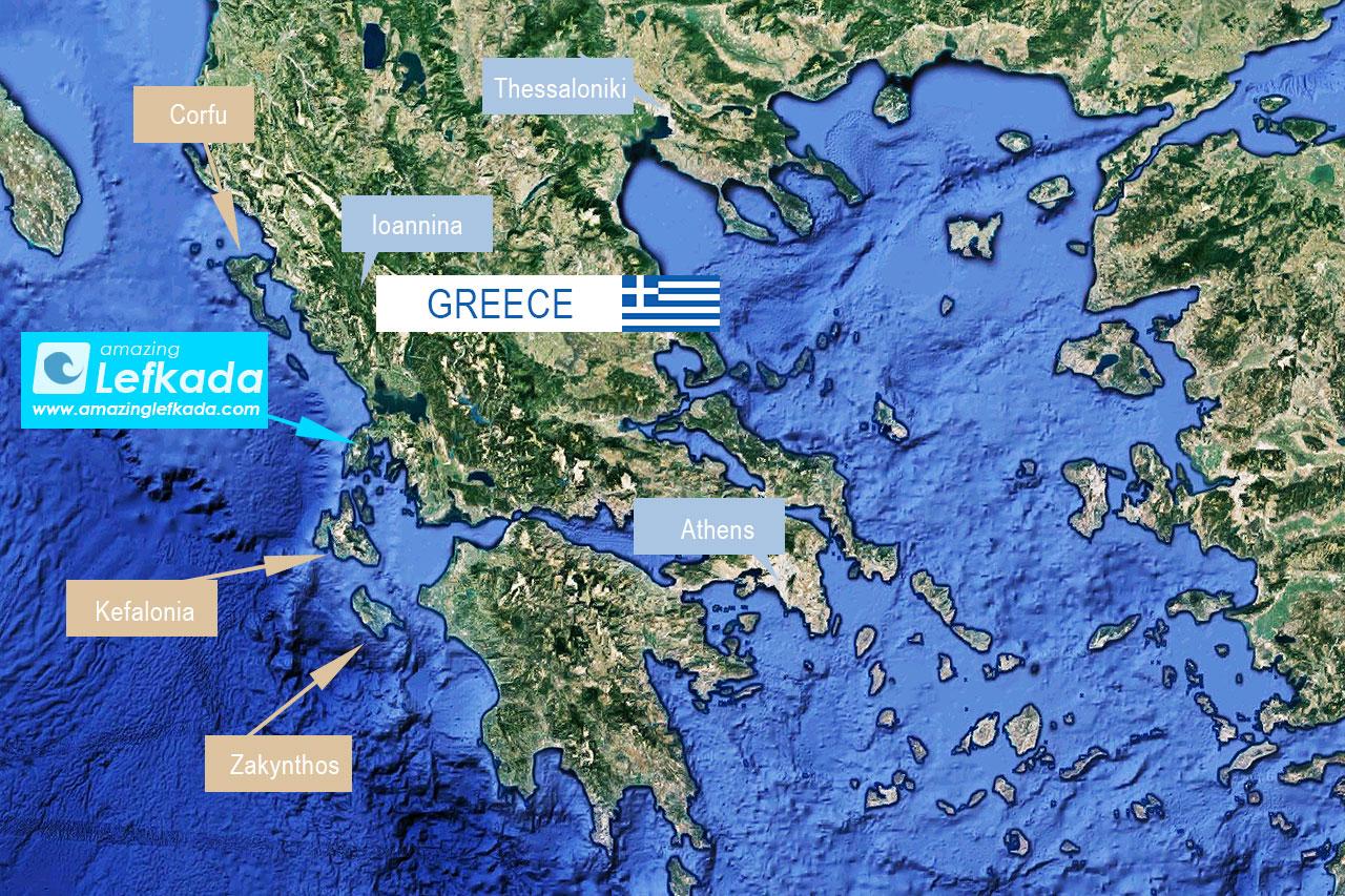 Where is Lefkada island