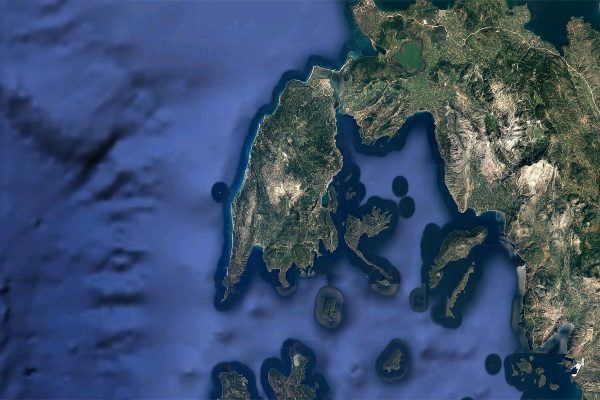 Lefkada map download