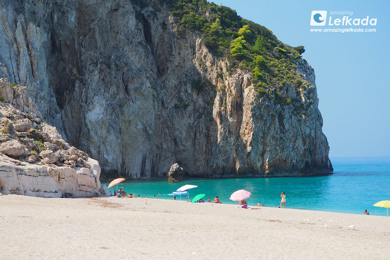 Nudist beaches of Lefkada island