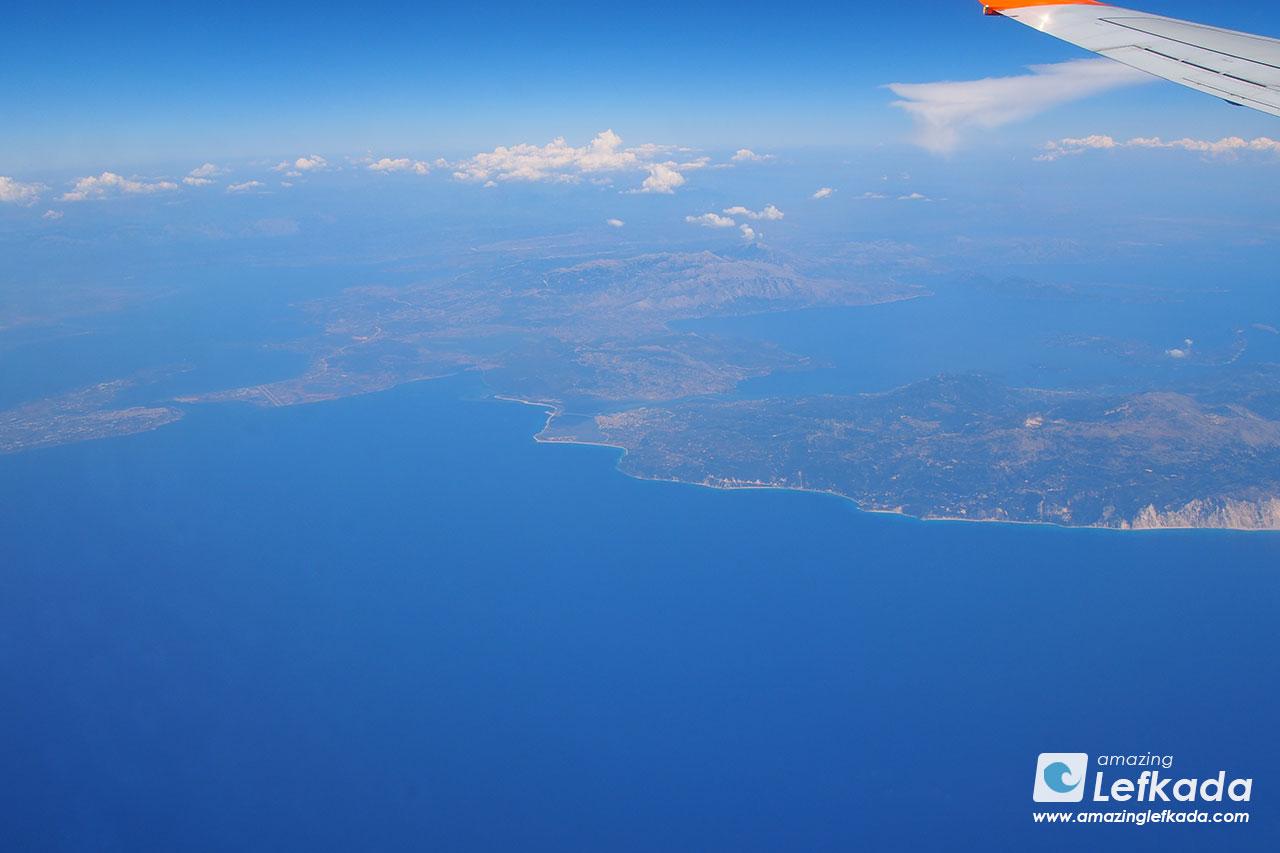 Fly to Lefkada