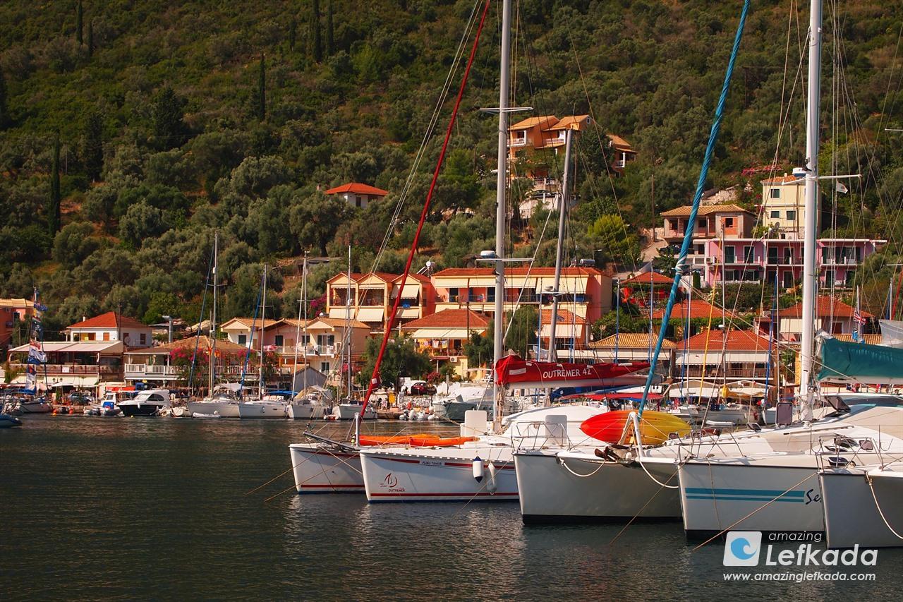 Port in Lefkada