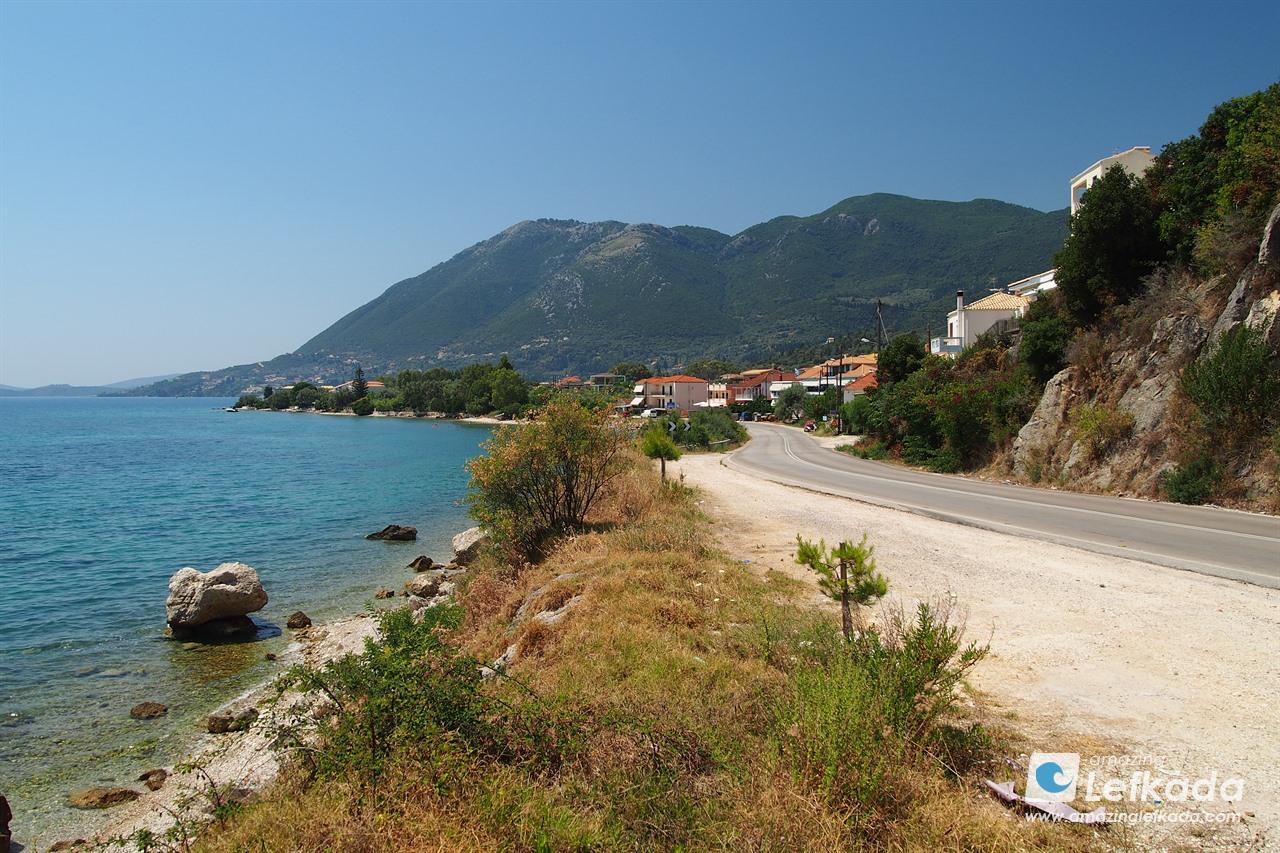 Road in Lefkada