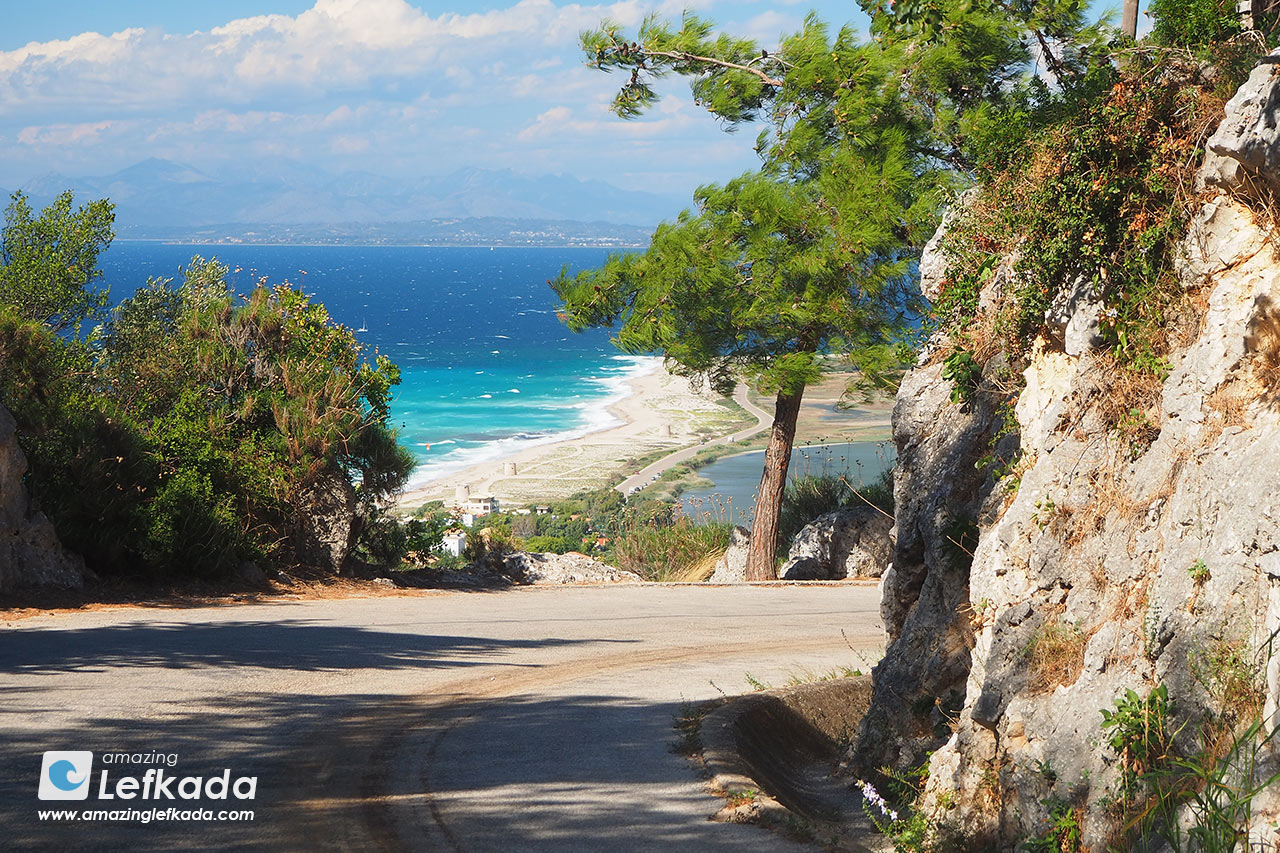 September, October weather in Lefkada island