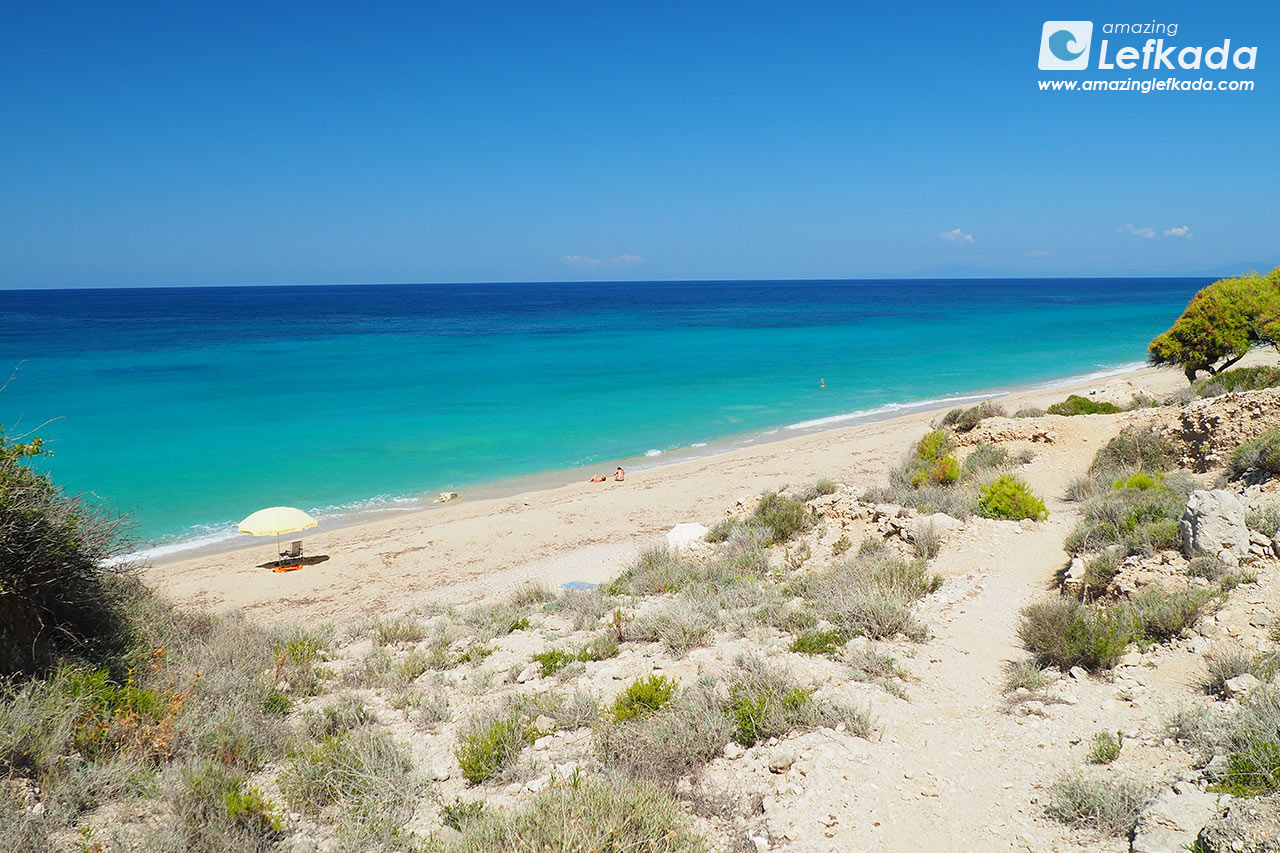 Lefkada island in September
