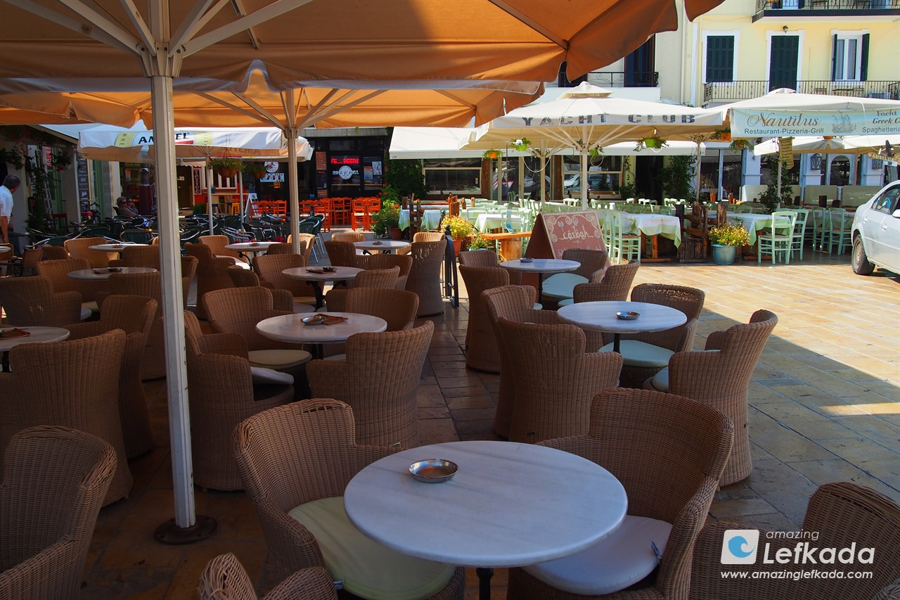 Tavern in Lefkada town