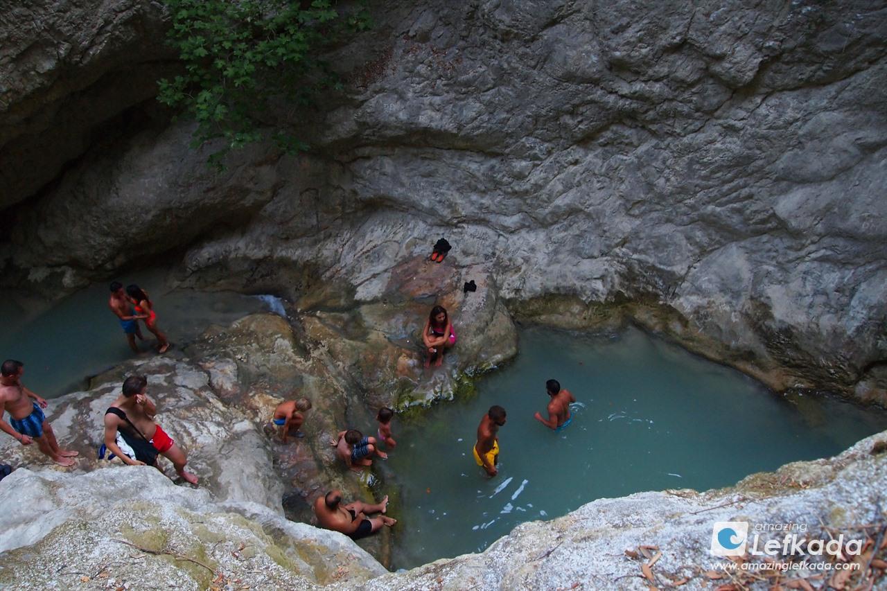 Lefkada natural pool