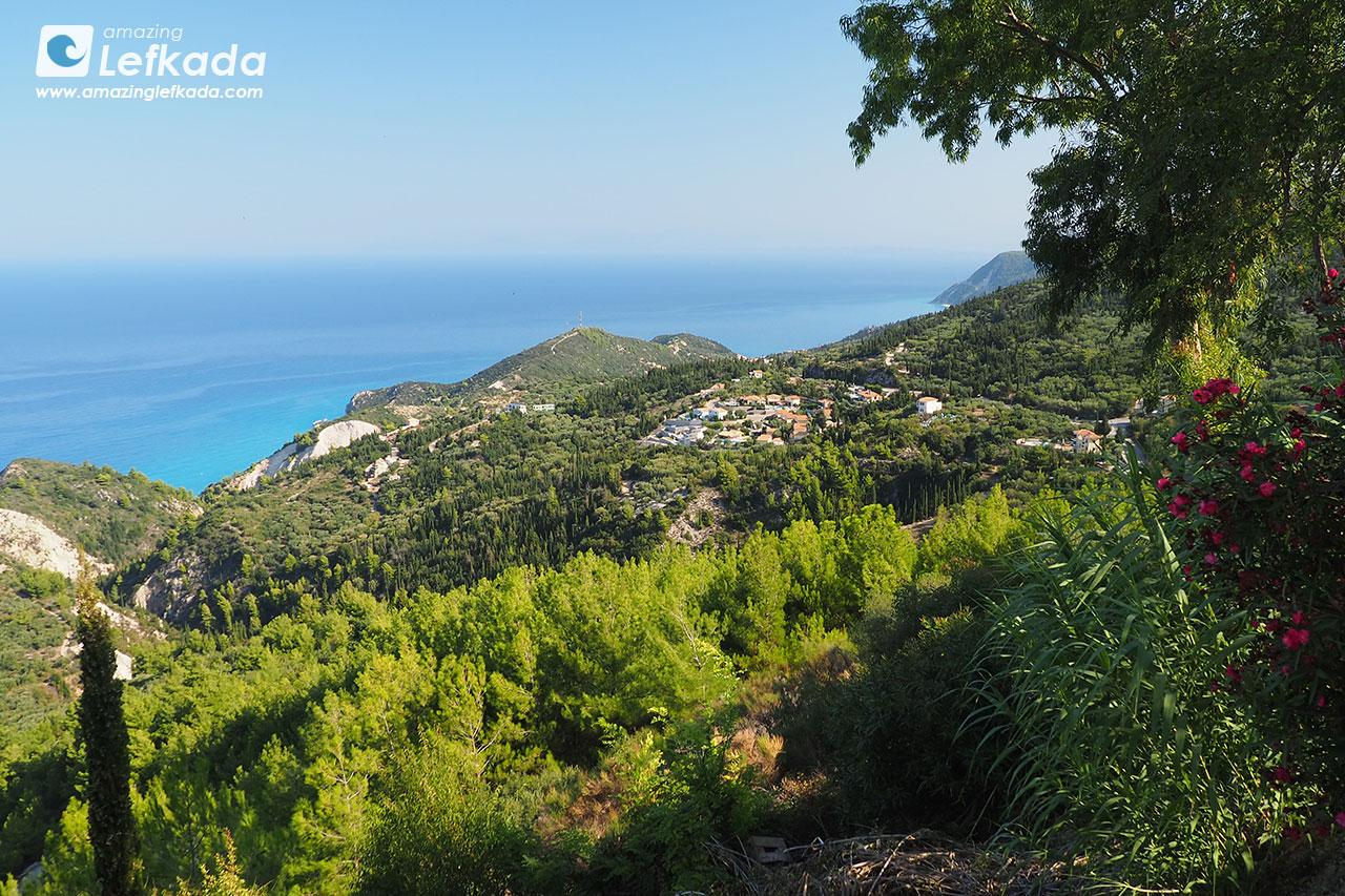 Western side of Lefkada