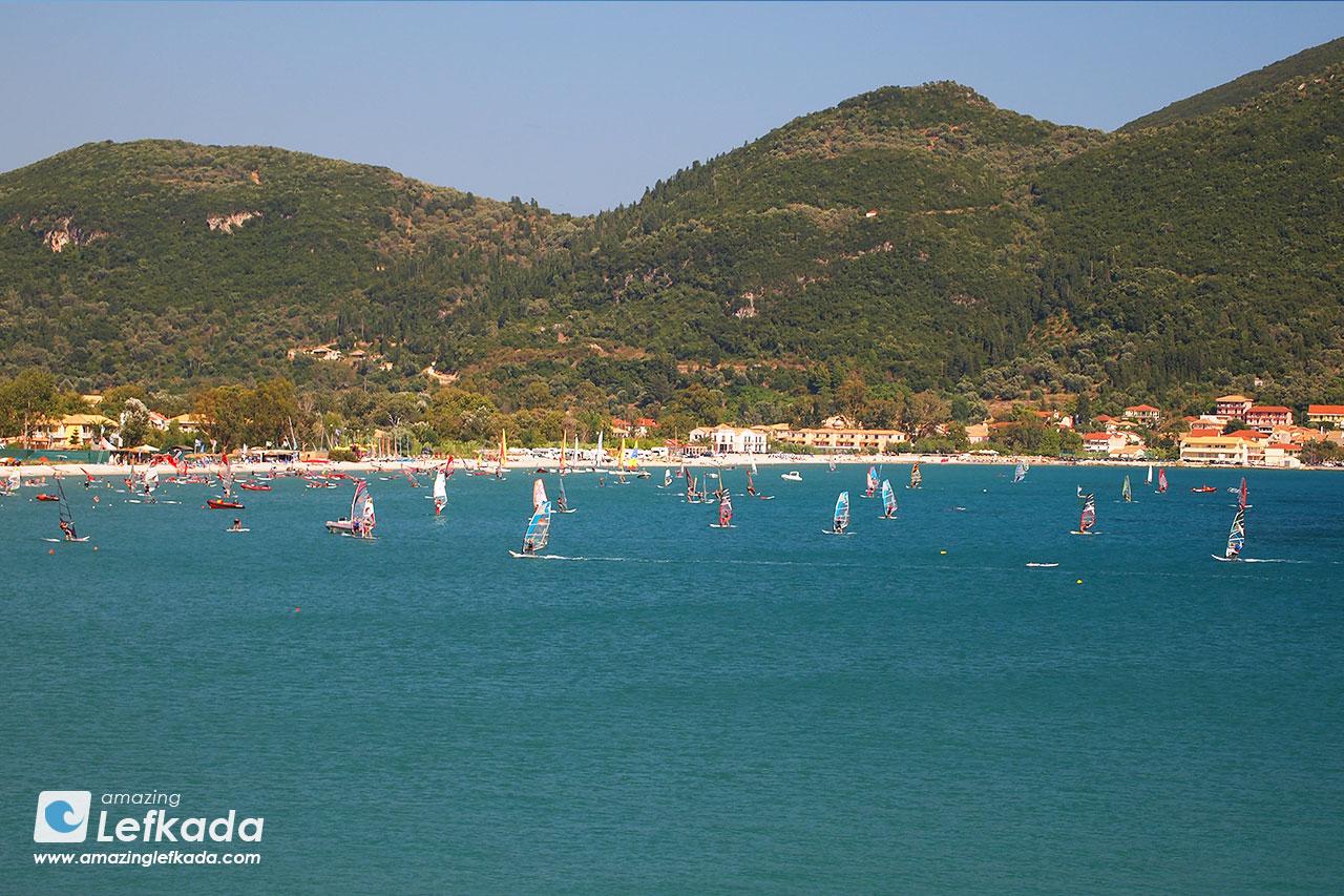 Windsurf in Lefkada