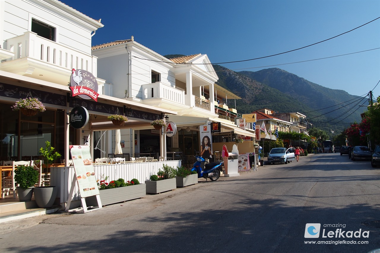 Nidri main street