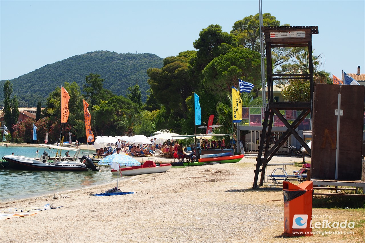 Nidri beach