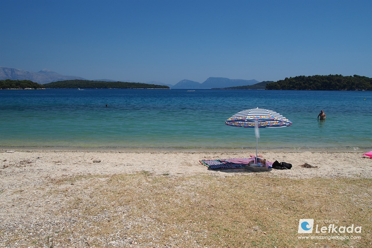 Nidri beach, Lefkada island