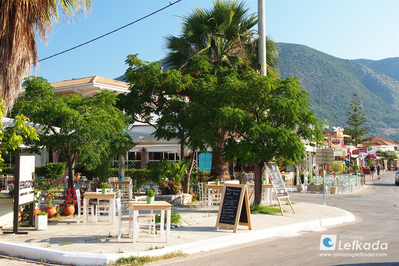 Taverns in Nidri, Lefkada