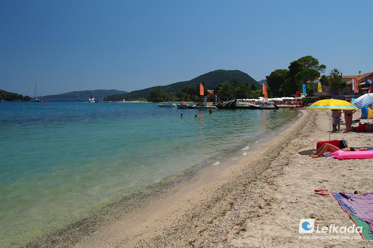 Nidri beach, Lefkada