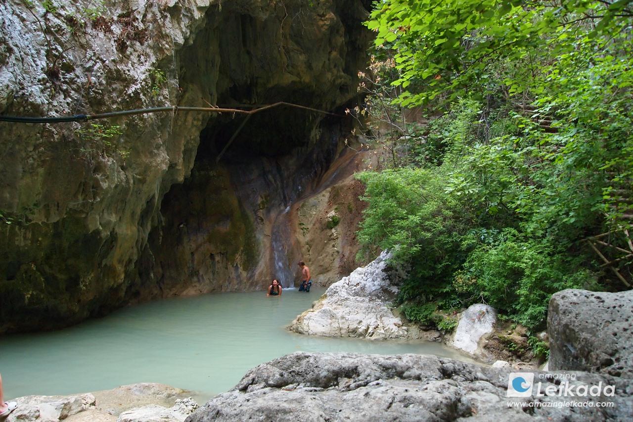 Nidri waterfall, Lefkada