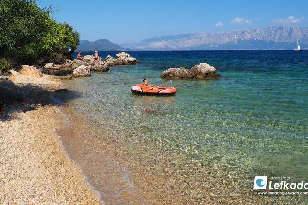 Passa beach Lefkada island