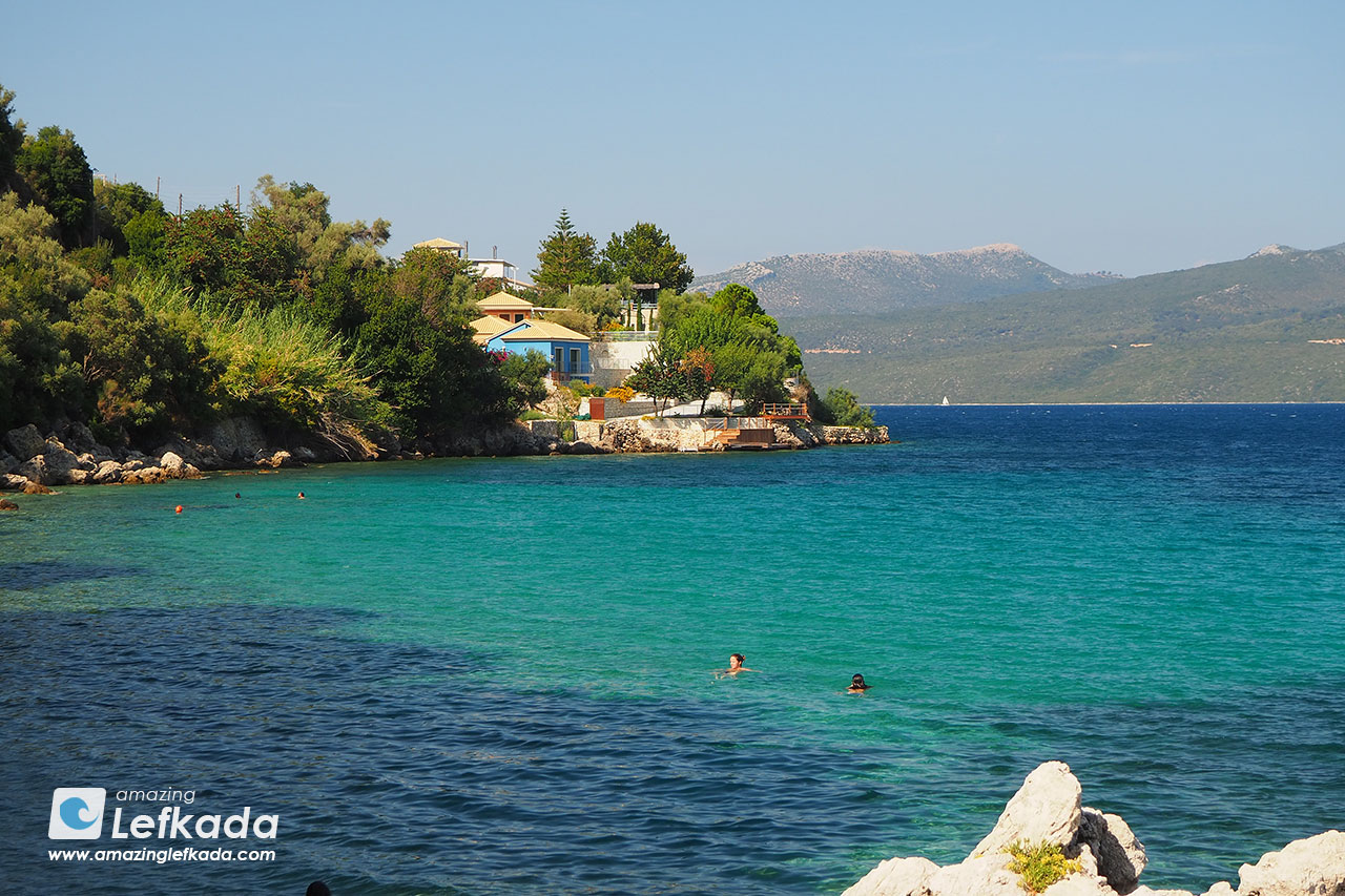 Passa beach, near Nidri
