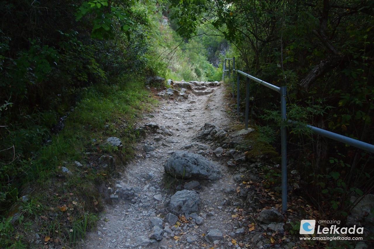 Nidri waterfalls route, Lefkas