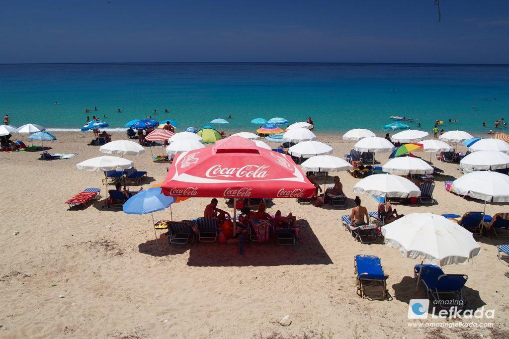 Pefkoulia beach, Lefkada