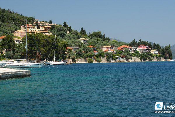 Perigiali village, Nidri, Lefkada