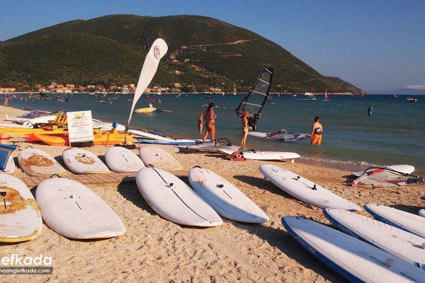 Ponti beach, Lefkada