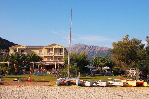 Ponti village, Lefkada