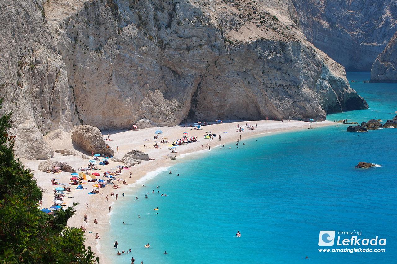 Among best beaches of Lefkada