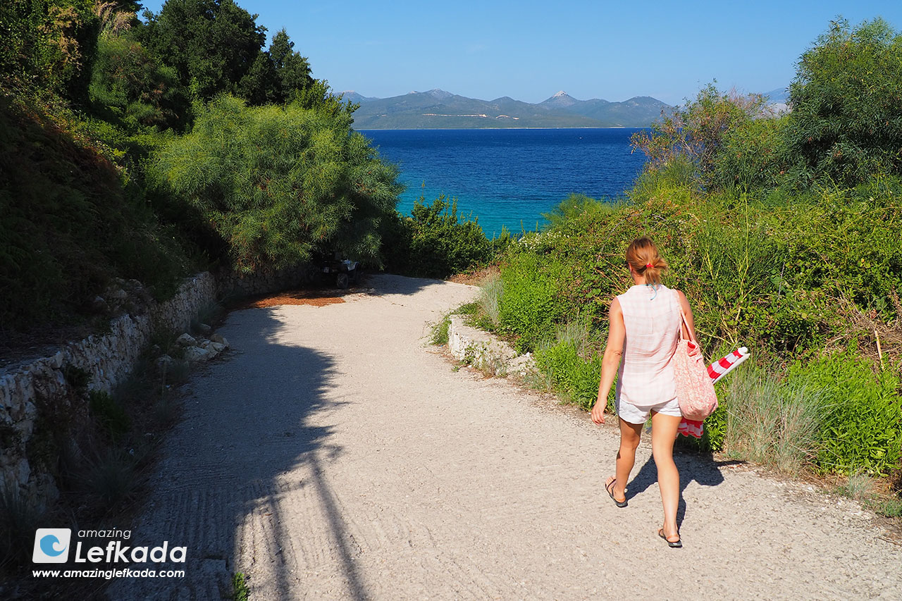 Path to Passa beach