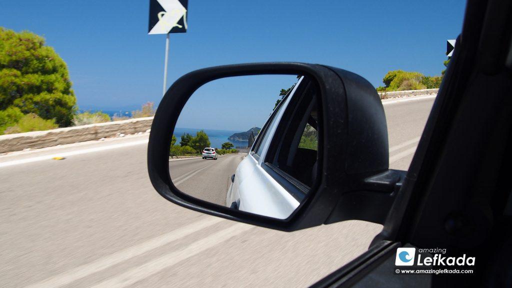 Roads in Lefkada