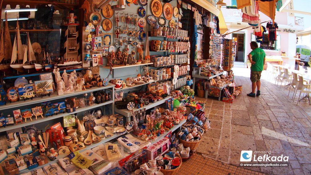 Shopping in Lefkada
