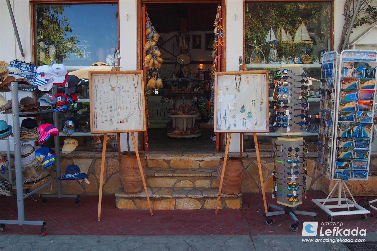 Shopping in Vasiliki