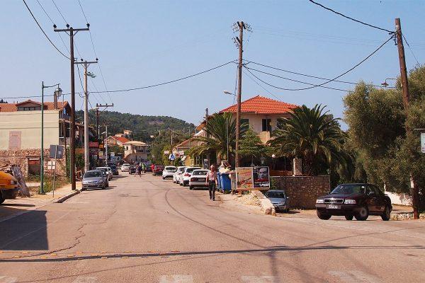 Tsoukalades village, Lefkada