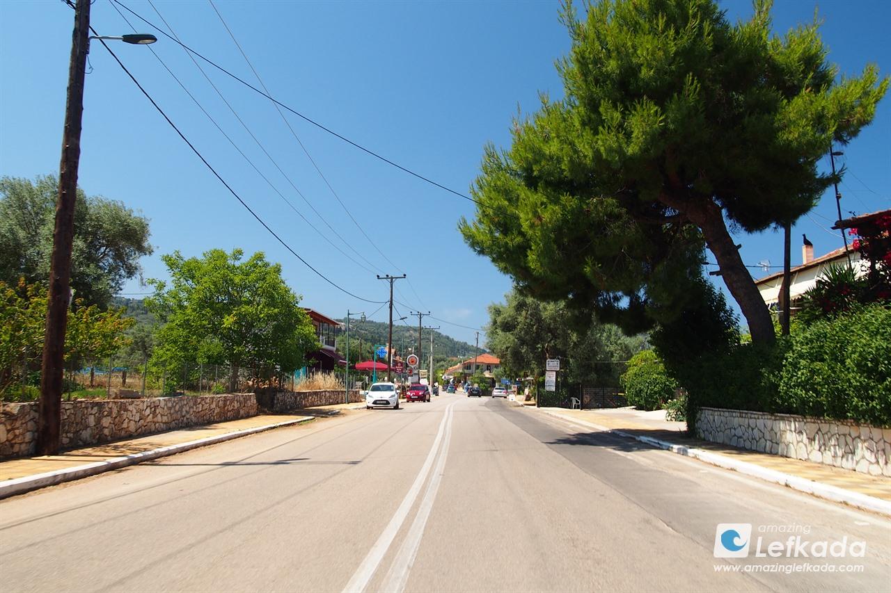 Streets of Tsoukalades, Lefkada