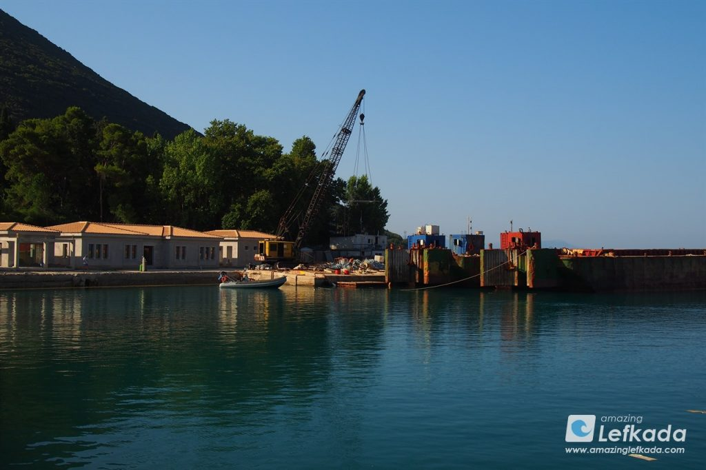 Vasiliki ferry port