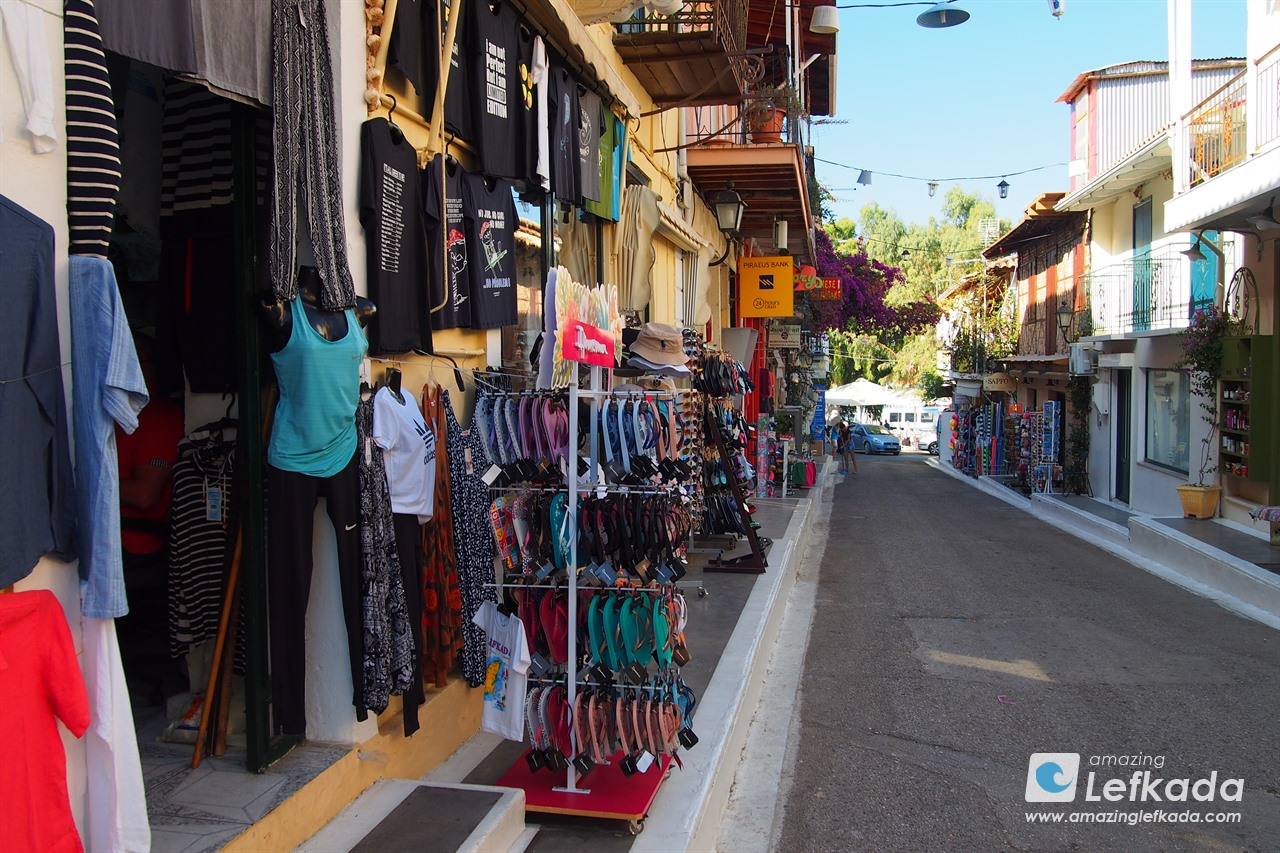 Souvenir shops in Vasiliki