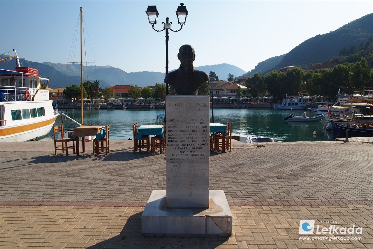 Statue in Vasiliki village