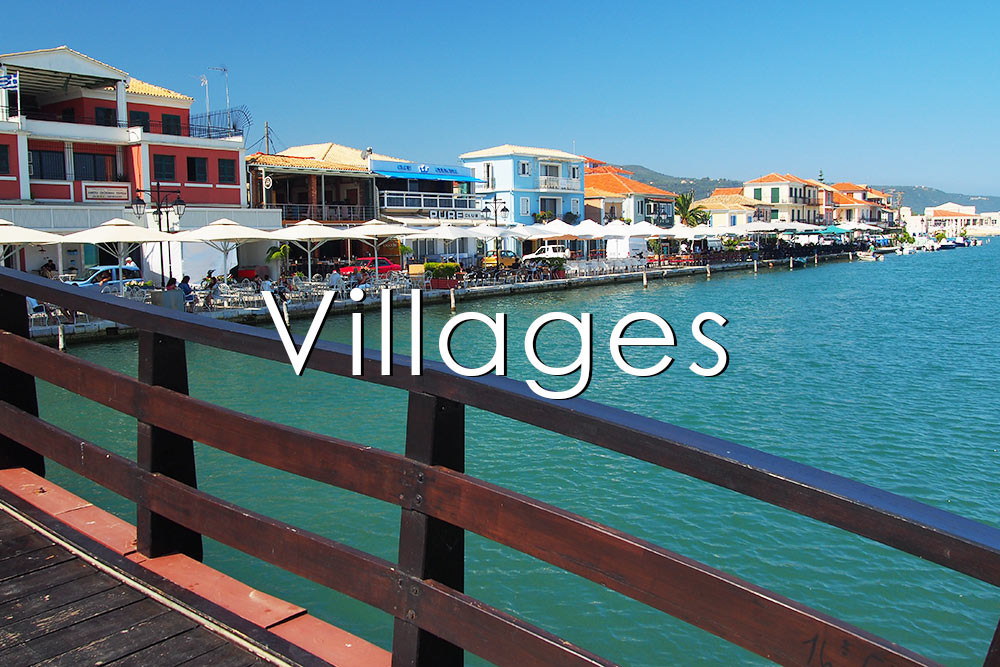 Villages and tourist resorts