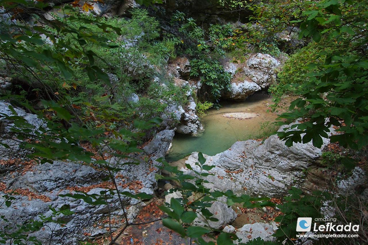 Waterfalls of Nidri, Lefkada island
